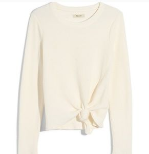 Madewell Texture & Thread Front Knot Jacquard